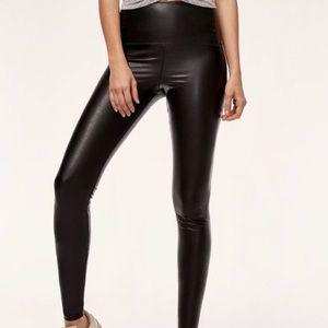 Aritzia Leather Legging Wilfred Free Daria Pant